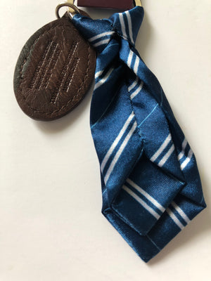 Universal Studios Harry Potter Ravenclaw Fabric Tie Keychain New with Tags