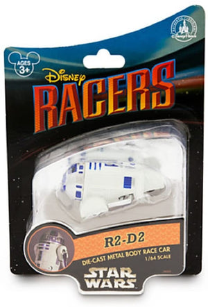 Disney Parks Star Wars R2-d2 Racers Metal Die Cast Car New with Box