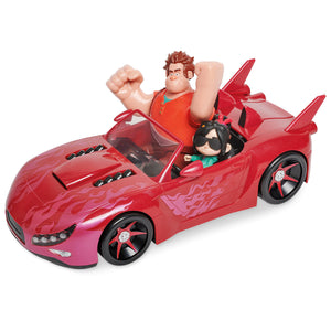 Disney Ralph Breaks the Internet Feature Slaughter Race Vehicle Set New w Box