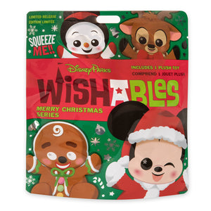Disney Parks Wishables Mystery Plush Merry Christmas Series Micro Unopened New