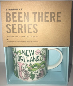 Starbucks Been There Series Collection New Orleans Louisiana Coffee Mug New