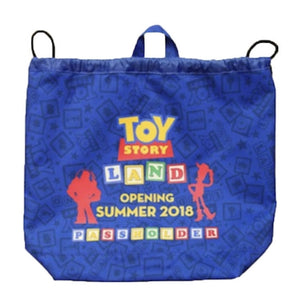 Disney Parks Toy Story Land Opening Summer 2018 Passholder Cinch Sack New sealed