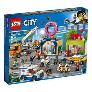 Lego 60233 City Donut Shop Opening Store Opening Set New with Sealed Box