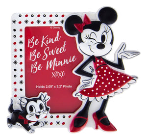 Disney Parks Be Kind Be Sweet Be Minnie Photo Frame Magnet New