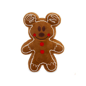 Disney Parks Holiday Mickey Gingerbread Cookie Plush Scented Small New with Tag