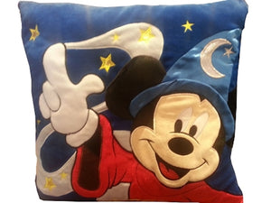 Disney Parks Shanghai Pillow Sorcerer Mickey Light-up Twinkle Stars New with Tag