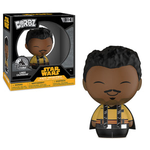 Disney Funko Exclusive Lando Calrissian Dorbz Vinyl Figure Funko Solo Star Wars New