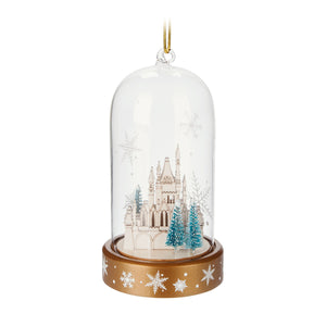 Disney Parks Turn of the Century Holiday Castle Light-Up Ornament New with Tags