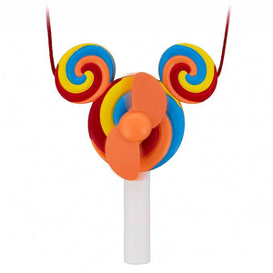 Disney Parks Mickey Mouse Lollipop Fan New with Tags