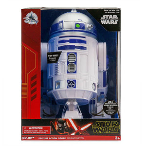 Disney Star Wars R2-D2 Talking Action Figure 10 1/2 inc New with Box