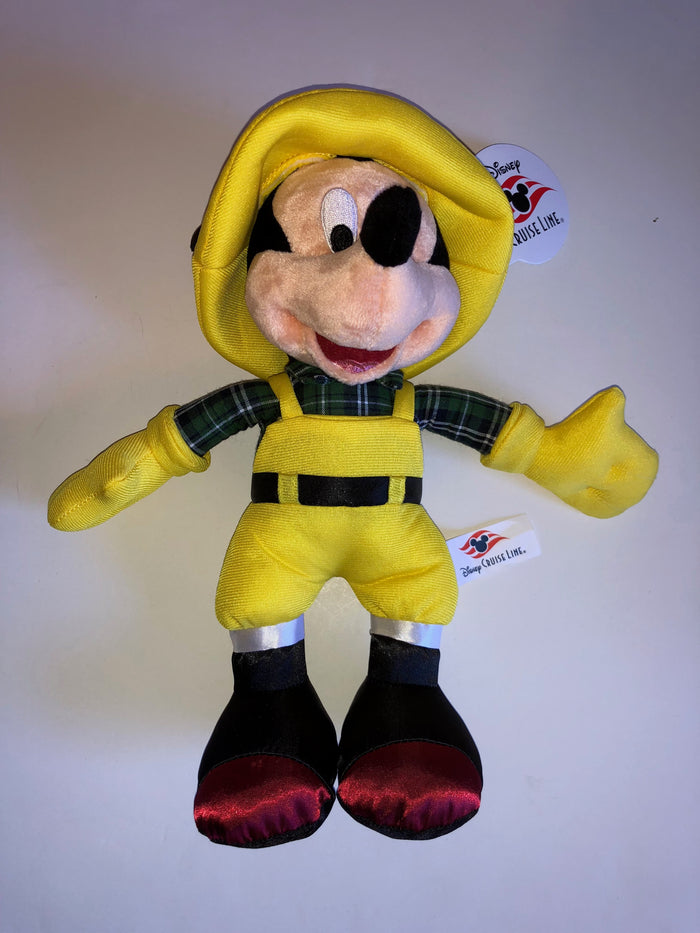 Disney Cruise Line Mickey Mouse 9 inc Plush New with Tags
