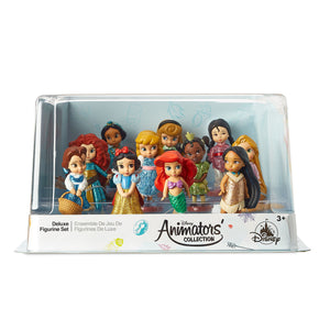 Disney Store Animators' Collection Deluxe Figurine Play Set Figure Playset New