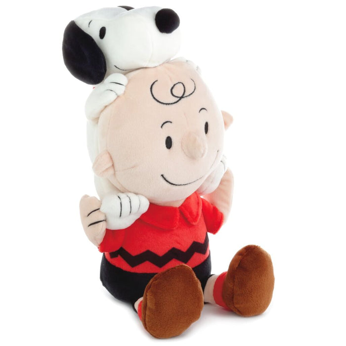 Hallmark Peanuts Charlie Brown and Snoopy Together Plush New with Tags