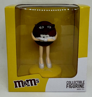 M&M's World Brown Collectible Figurine New With Box