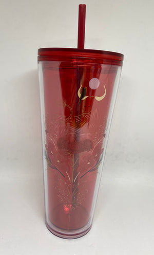 Starbucks Chinese New Year of Ox 2021 Tumbler with Straw New