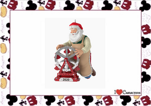 Hallmark 2020 Toymaker Santa Christmas Ornament New with Box