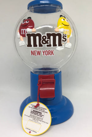 M&M's World Gumball Candy Dispenser New York New with Tags
