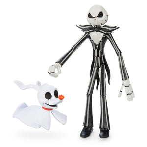 Disney Jack Skellington and Zero Action Figure Toybox New with Box