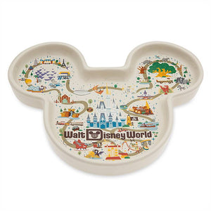 Disney Parks Life Mickey Mouse Icon Trinket Dish Walt Disney World New
