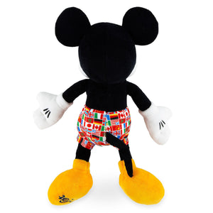 Disney Parks Epcot Flags Mickey Mouse 11inc Plush New with Tags