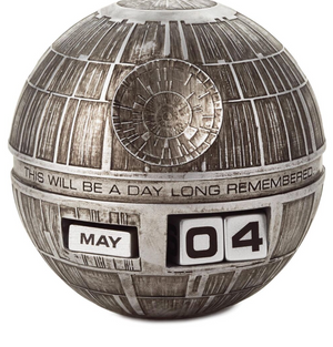 Hallmark Star Wars Death Star Perpetual Calendar New