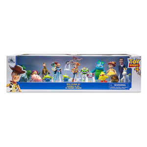 Disney Store Toy Story 4 Mega Figurine Set Cake Topper 19 Pieces New with Box