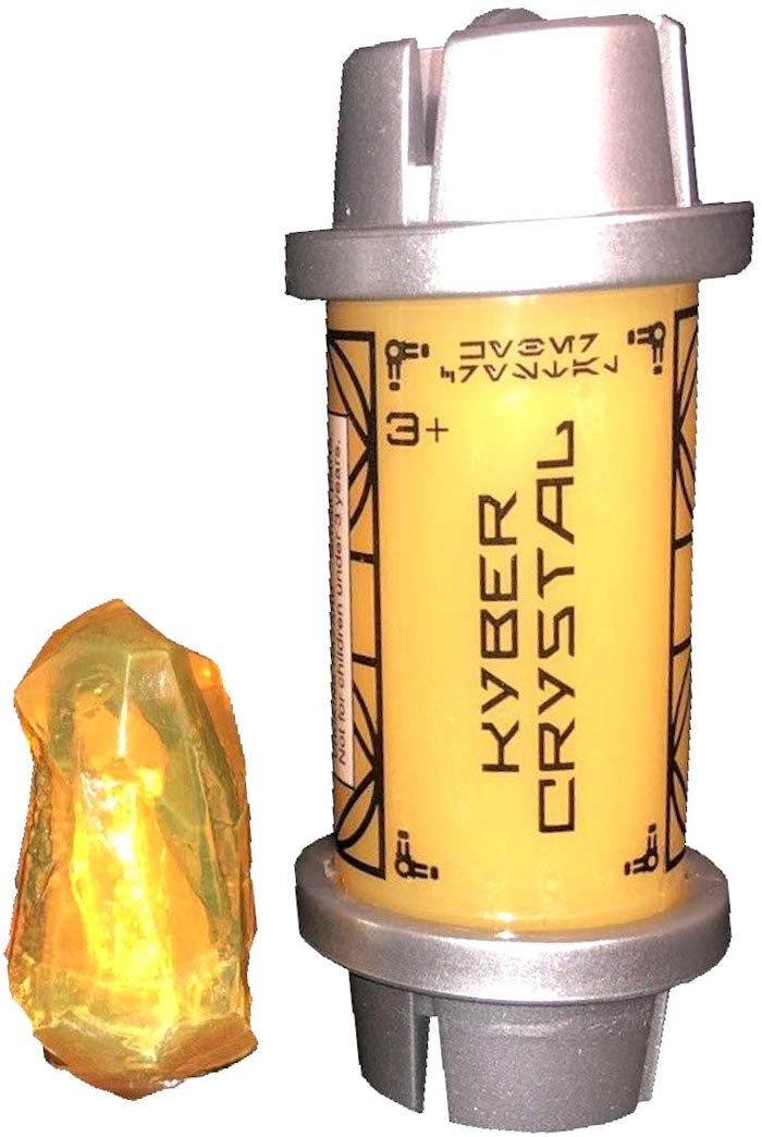 Disney Parks Star Wars Galaxy Edge Kyber Crystal Yellow New