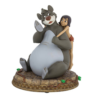 Disney Parks 50th The Jungle Book Mowgli & Baloo Resin Figurine New with Box