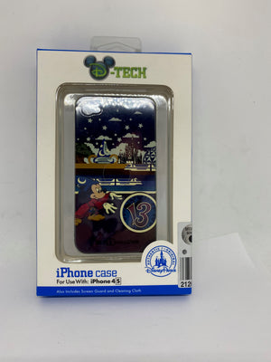 Disney Parks 2013 Mickey Sorcerer Clip Case and Screen Guard Iphone 4S New Box
