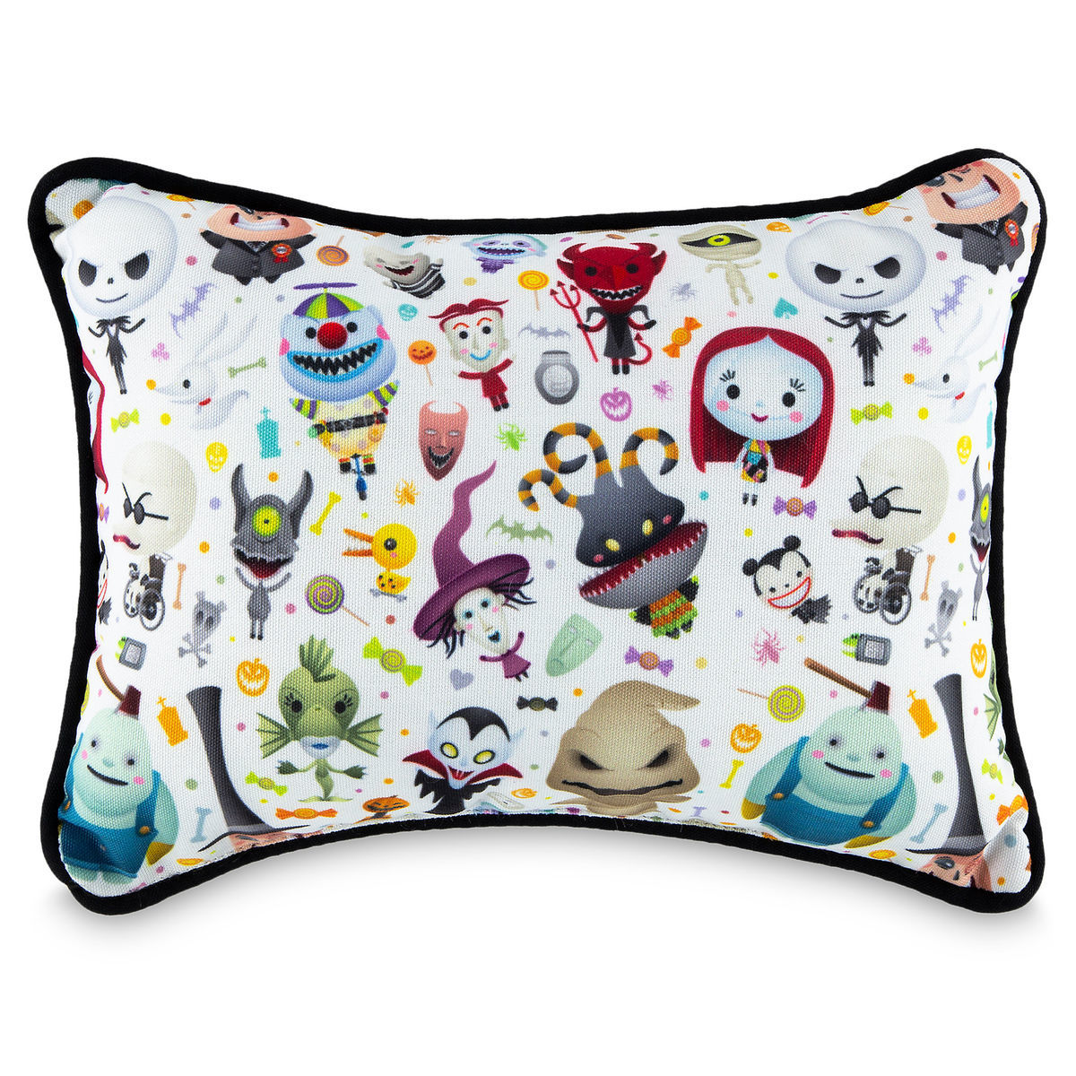 Disney Parks Nightmare Before Christmas Pillow Jack Sally Zero Oogie ...