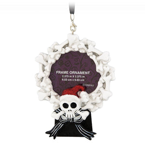 Disney Parks Nightmare Before Christmas Santa Jack Picture Frame Ornament New