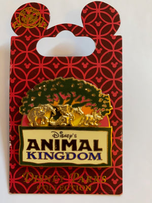 Disney Parks Animal Kingdom Tree of Life Pin New With Card