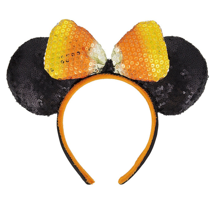 Disney Parks Minnie I'm Just Here For The Candy Halloween Headband New with Tag
