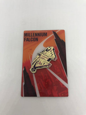 Disney Star Wars Galaxy's Edge Black Spire Outpost Millennium Falcon Magnet New