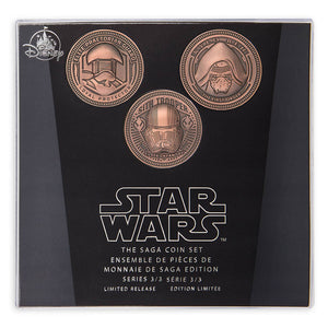 Disney Parks Star Wars Saga Coin Set Series 3 Limited Release New with Box