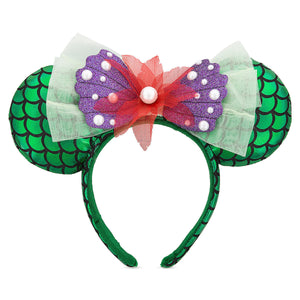 Disney Parks Ariel Ear Headband One Size New with Tags