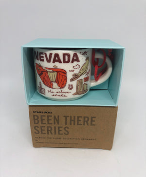 Starbucks Coffee Been There Nevada Ceramic Ornament Espresso Mug New Box