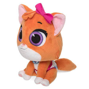 "Disney T.O.T.S. Mia the KItten Small Plush 6"" New with Tags"