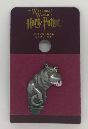 Universal Studios Wizarding World Of Harry Potter Magical Menagerie Hippo Pin