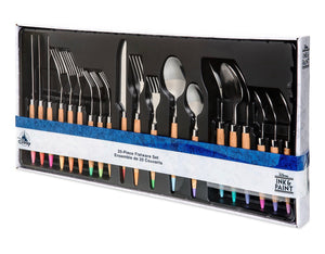 Disney Parks Ink & Paint 20 Piece Flatware Set New with Box