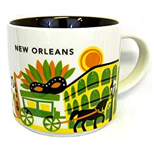 Starbucks You Are Here New Orleans Louisiana Ceramic Coffee Mug New With Box