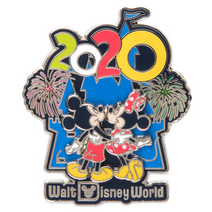 Disney Parks Mickey Minnie Mouse Cinderella Castle Walt Disney World 2020 Pin