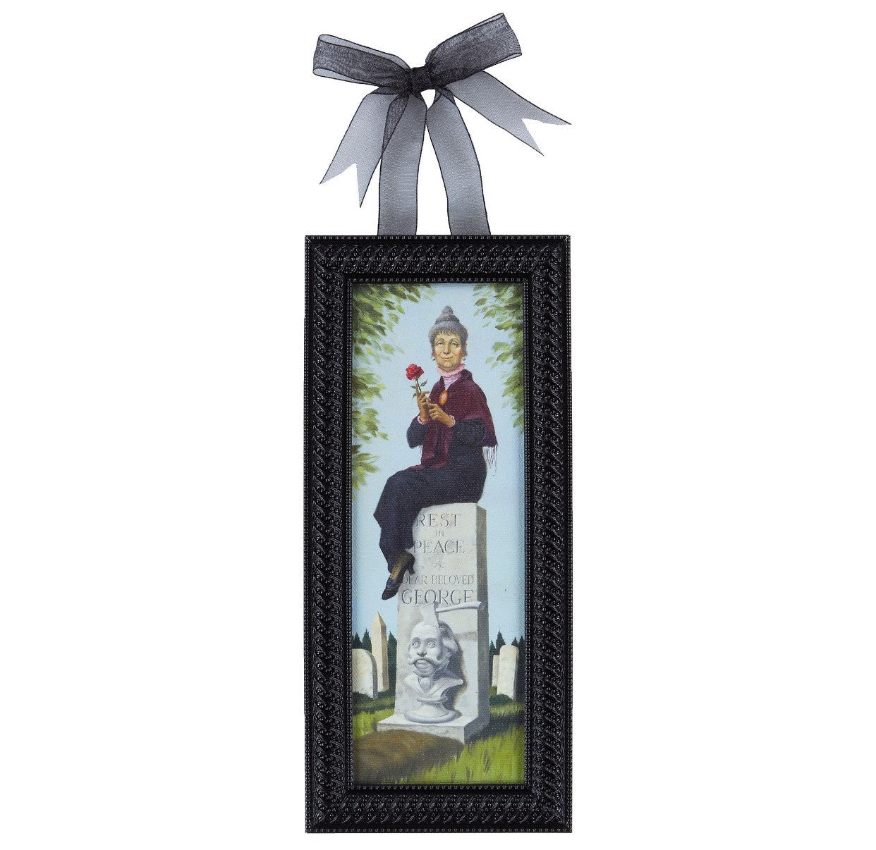 Disney Parks Haunted Mansion Woman Grave Mini Frame New With Tags