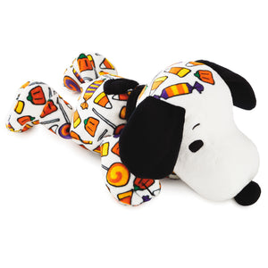 Hallmark Peanuts 11 inc Halloween Candy Craze Snoopy Floppy Plush New with Tag