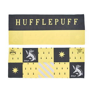 Universal Studios Harry Potter Hufflepuff Cooling Towel New with Case