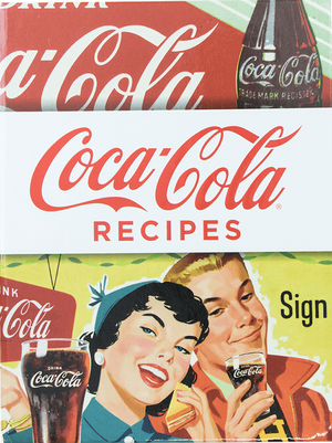 Authentic Coca Cola Coke Retro Cookbook with Recipes New