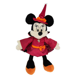 Disney Halloween Minnie Mouse Witch 11 inc Plush New with Tags
