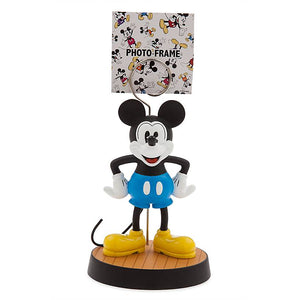 Disney Parks Blue Mickey Mouse Photo Clip Frame New with Tag