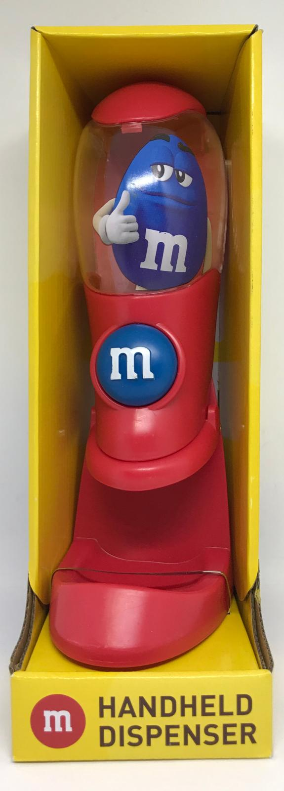 M&M's World Red Handheld Dispenser Candy Dispenser New with Box