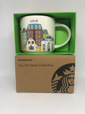 Starbucks You Are Here Collection France Lille Ceramic Coffee Mug New W Box